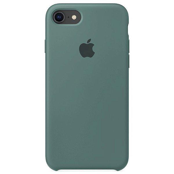 Case Capinha Verde Pacífico para iPhone 7, 8 e SE 2º Geração de Silicone - XM3K1HYNS