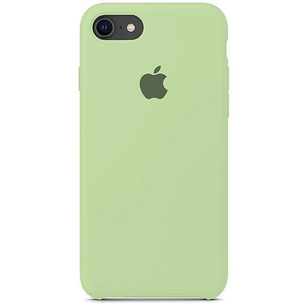 Case Capinha Verde Pistache para iPhone 7, 8 e SE 2º Geração de Silicone - 0PX67RACA