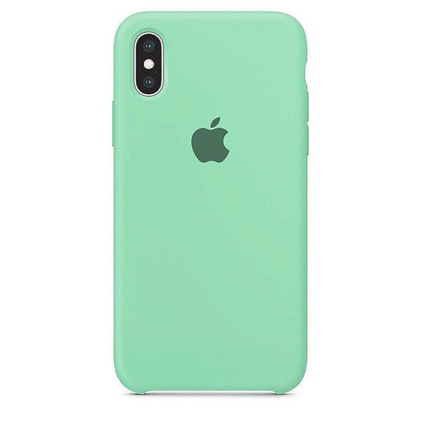 Case Capinha Azul Tiffany para iPhone X e XS de Silicone - XRJ4U6PPH