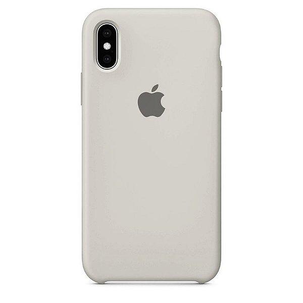 Case Capinha Branco Off-White para iPhone X e XS de Silicone - 4MWIP8YGC