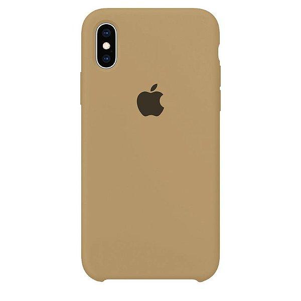 Case Capinha Caramelo para iPhone X e XS de Silicone - 8ZJODY1OS