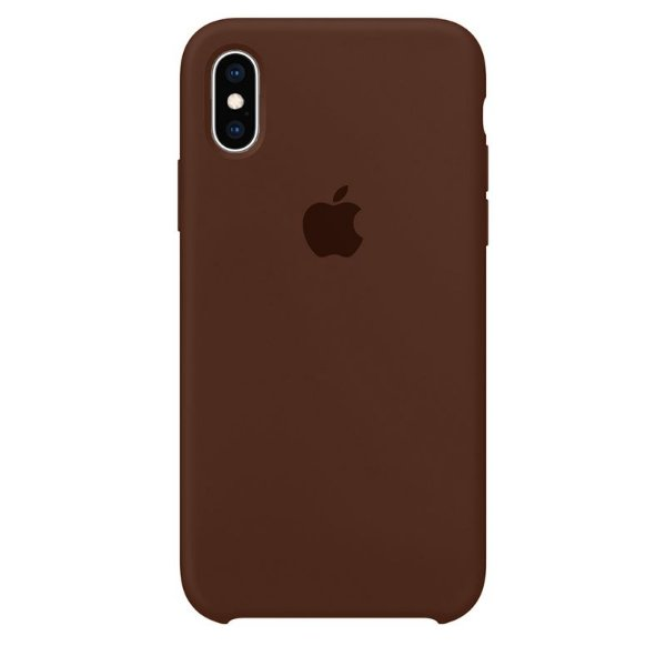 Case Capinha Chocolate para iPhone X e XS de Silicone - C42X15Z71