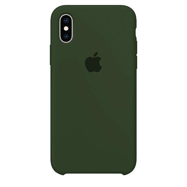 Case Capinha Verde Bandeira para iPhone X e XS de Silicone - 0Y5EOTE61