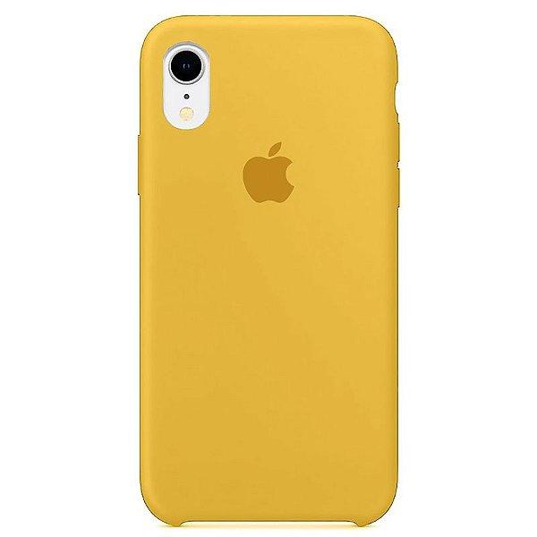 Case Capinha Amarela para iPhone XR de Silicone - Q0Y1VCEE7