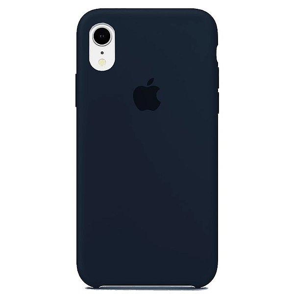 Case Capinha Azul Cobalto para iPhone XR de Silicone - WKGKIWX7Z