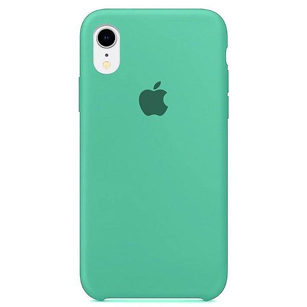 Case Capinha Azul Tiffany para iPhone XR de Silicone - 15WHW87W2
