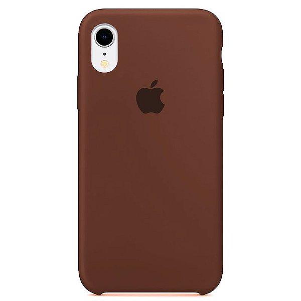 Case Capinha Chocolate para iPhone XR de Silicone - ID3C112N8
