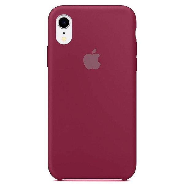 Case Capinha Romã para iPhone XR de Silicone - C3DZICZLA