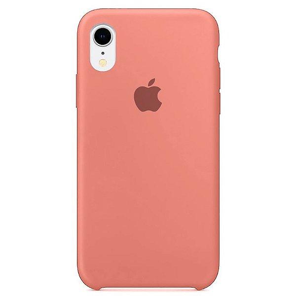 Case Capinha Rosa para iPhone XR de Silicone - CHUL5O584