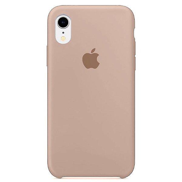 Case Capinha Rosa Areia para iPhone XR de Silicone - RWK546ZHU
