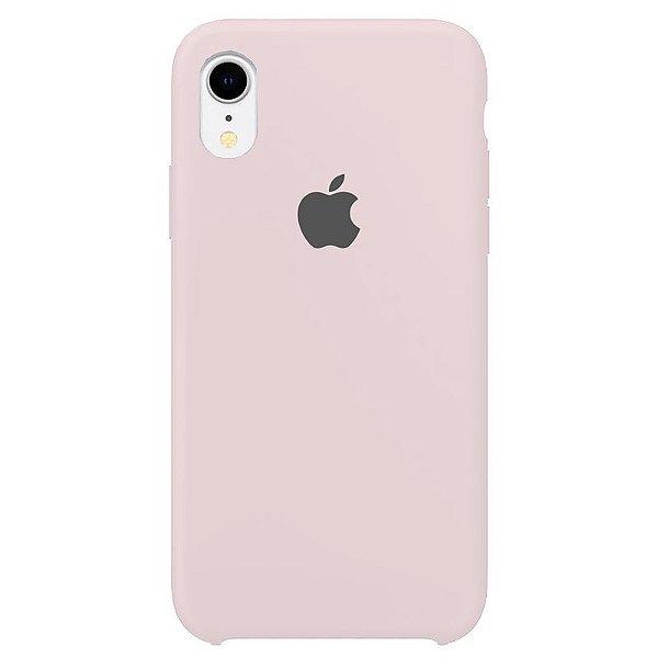 Case Capinha Rosa Claro para iPhone XR de Silicone - M3TYXNY0Q