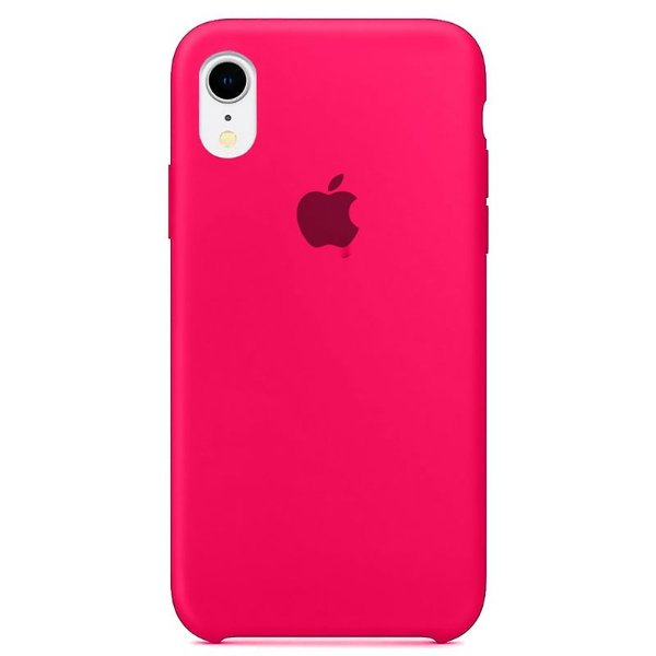 Case Capinha Rosa Pink para iPhone XR de Silicone - 8X2TPYIJV