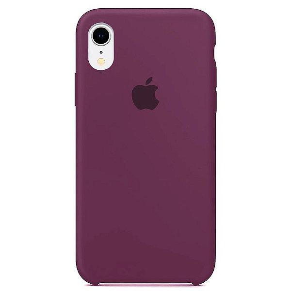 Case Capinha Roxa para iPhone XR de Silicone - IK87NS0D6