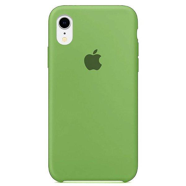 Case Capinha Verde Menta para iPhone XR de Silicone - T71C0SJDJ