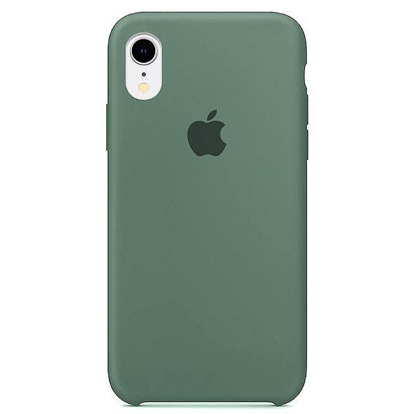Case Capinha Verde Pacífico para iPhone XR de Silicone - ORKR7EJNW