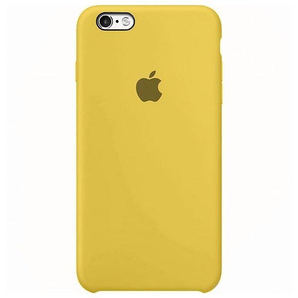 Case Capinha Amarela para iPhone 6 e 6s de Silicone - 1S9TD20U2