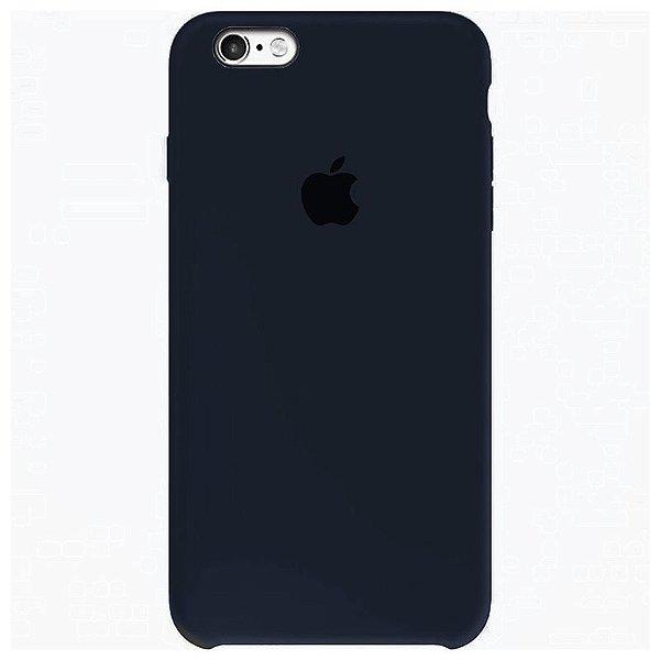 Case Capinha Azul Cobalto para iPhone 6 e 6s de Silicone - GKWMS9J9M