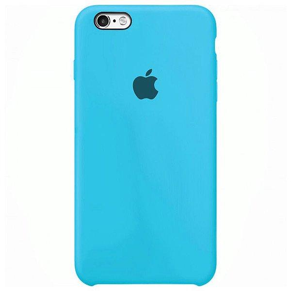 Case Capinha Azul Piscina para iPhone 6 e 6s de Silicone - HN45J7OXN