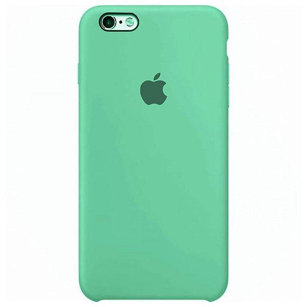 Case Capinha Azul Tiffany para iPhone 6 e 6s de Silicone - OI7KDON4F