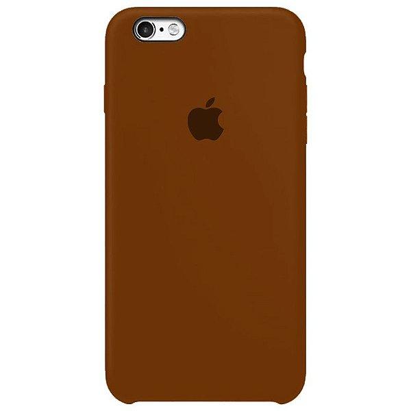 Case Capinha Chocolate para iPhone 6 e 6s de Silicone - Z1XR7XC5D