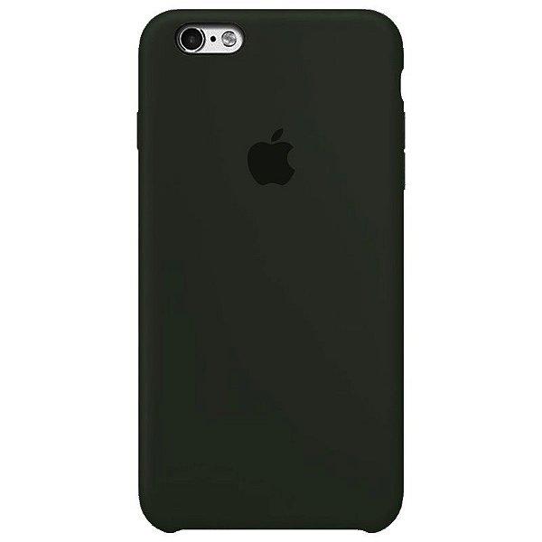 Case Capinha Cinza Escuro para iPhone 6 e 6s de Silicone - A30E1LWMV