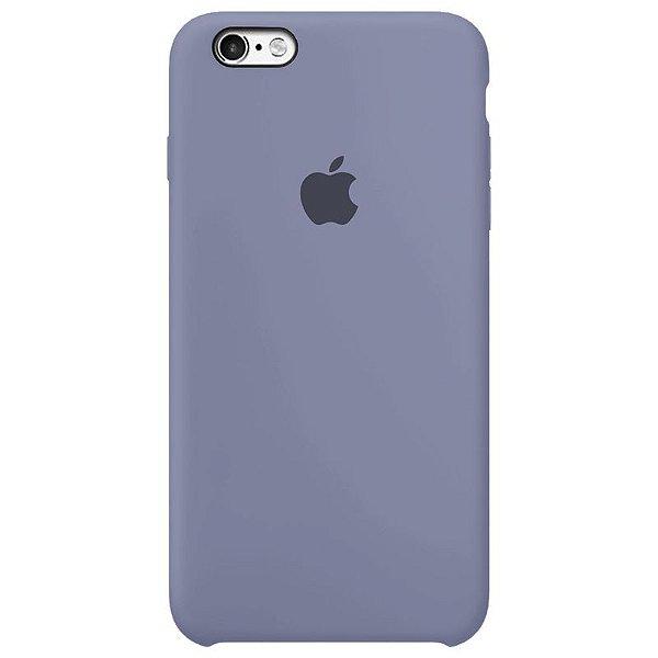 Case Capinha Cinza Lavanda para iPhone 6 e 6s de Silicone - FZ2WC329E