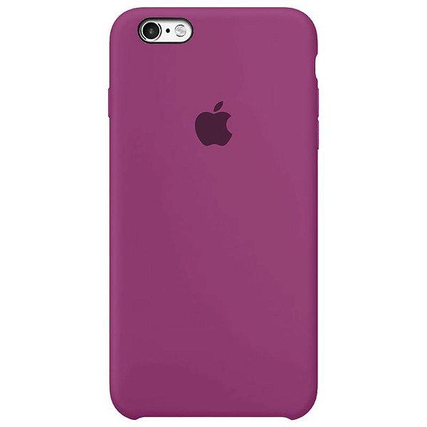 Case Capinha Rosa Hibisco para iPhone 6 e 6s de Silicone - UP1VFBLLX