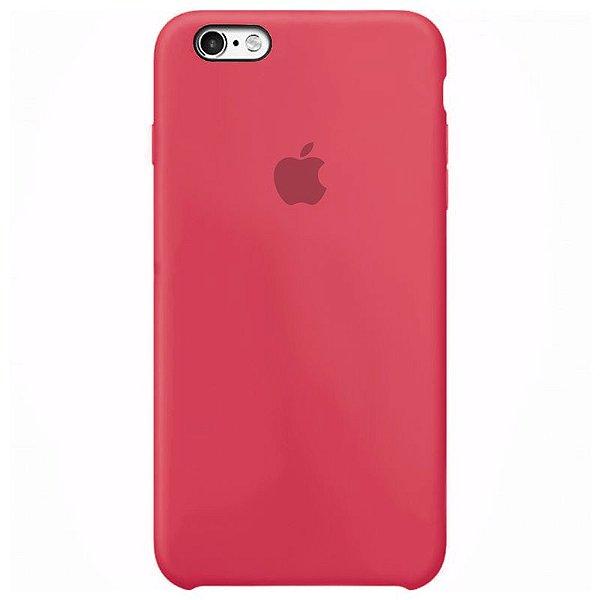 Case Capinha Rosa Neon para iPhone 6 e 6s de Silicone - OM84BVHC3