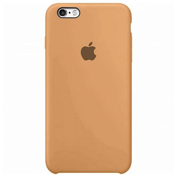 Case Capinha Tangerina para iPhone 6 e 6s de Silicone - ADDGQUTDA