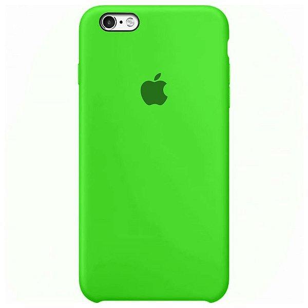 Case Capinha Verde para iPhone 6 e 6s de Silicone - HS5KKCVCA