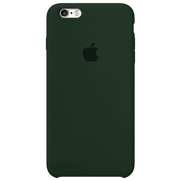 Case Capinha Verde Floresta para iPhone 6 e 6s de Silicone - 5DPKW7O0R