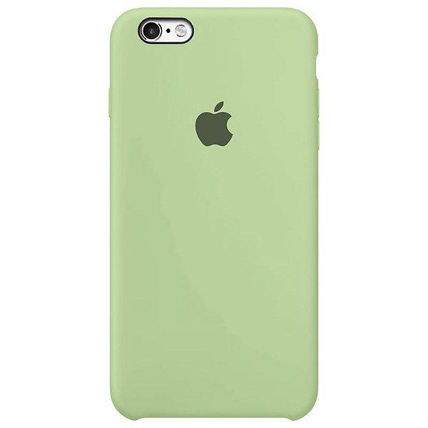 Case Capinha Verde Pistache para iPhone 6 e 6s de Silicone - EC4QGZENL