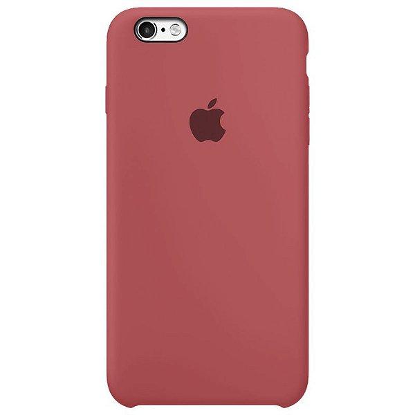 Case Capinha Vermelho Antigo para iPhone 6 e 6s de Silicone - KX3D8QJ97