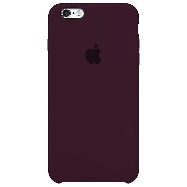 Case Capinha Vermelho Bordô para iPhone 6 e 6s de Silicone - Z19U7IVXE