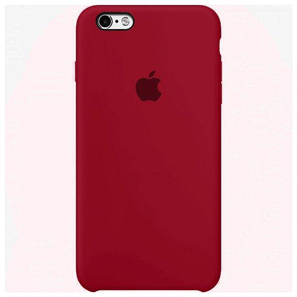 Case Capinha Vinho para iPhone 6 e 6s de Silicone - 9LKD8AP8A