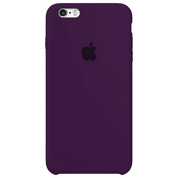 Case Capinha Violeta para iPhone 6 e 6s de Silicone - R0LH48CV0