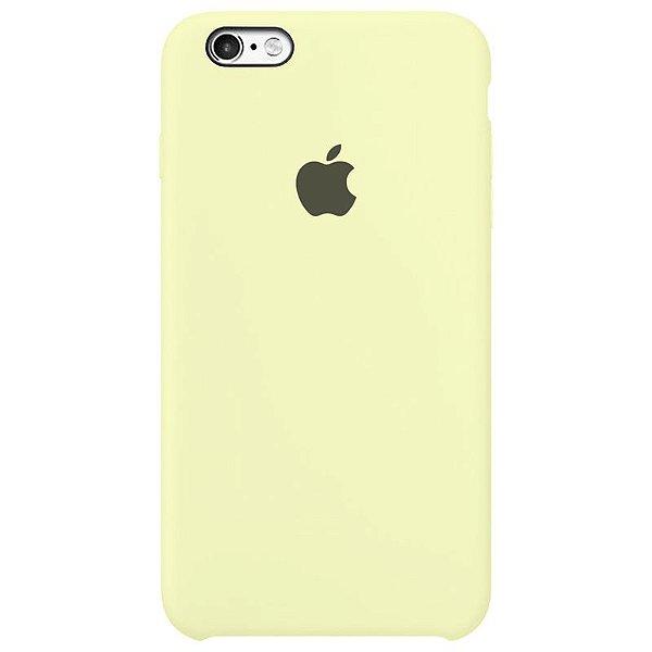 Case Capinha Amarelo Claro para iPhone 6 Plus e 6s Plus de Silicone - T77X0IEA1