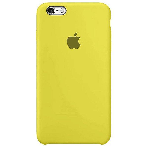 Case Capinha Amarelo Limão para iPhone 6 Plus e 6s Plus de Silicone - 8ST23GQAX