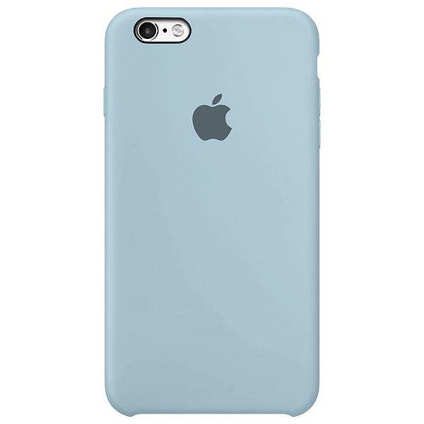 Case Capinha Azul Bebê para iPhone 6 Plus e 6s Plus de Silicone - H949K63UY