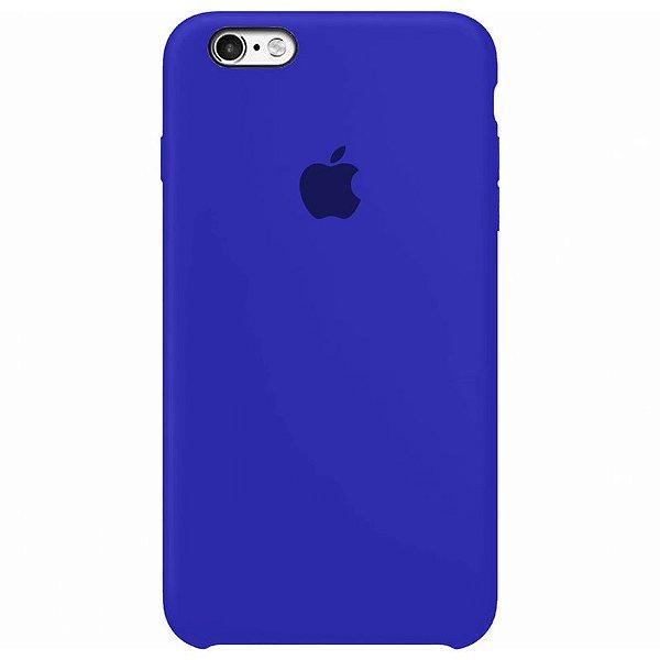 Case Capinha Azul Caneta para iPhone 6 Plus e 6s Plus de Silicone - 1KZCH7XHH