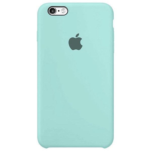 Case Capinha Azul Tiffany para iPhone 6 Plus e 6s Plus de Silicone - 5TMKTS5D7