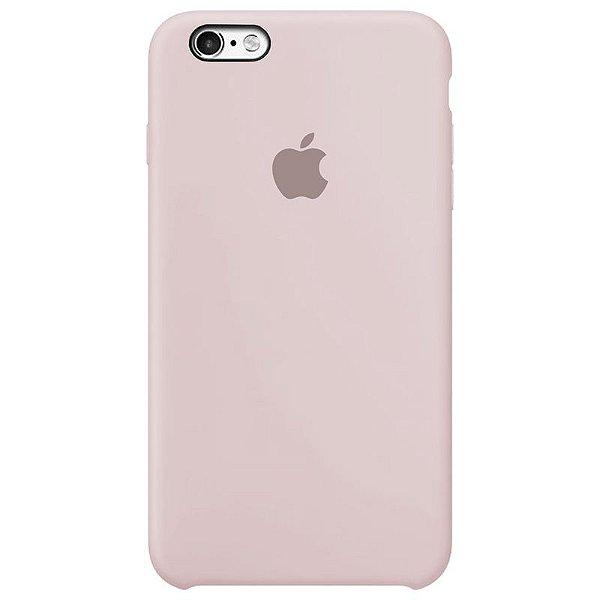 Case Capinha Rosa Areia para iPhone 6 Plus e 6s Plus de Silicone - VB5SO6JJG
