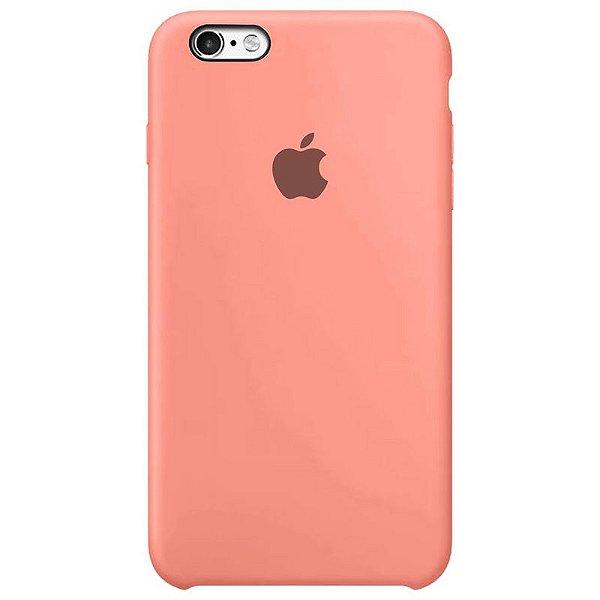Case Capinha Rosa Chiclete para iPhone 6 Plus e 6s Plus de Silicone - HT6QHRK7Q