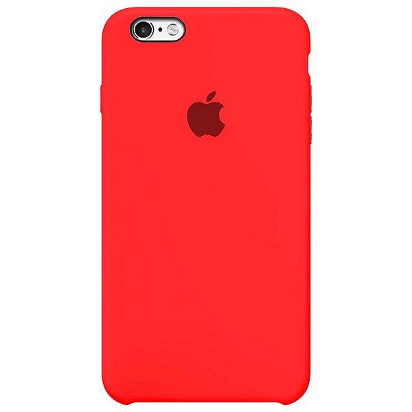 Case Capinha Rosa Neon para iPhone 6 Plus e 6s Plus de Silicone - 4RA4YWFAB
