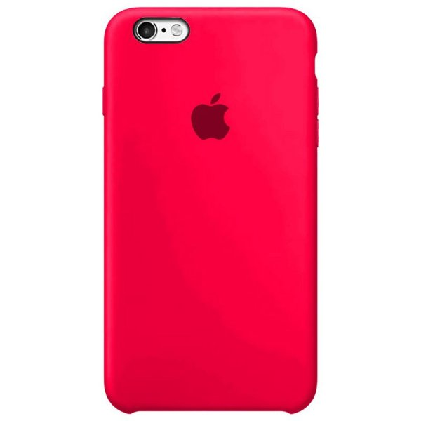 Case Capinha Rosa Pink para iPhone 6 Plus e 6s Plus de Silicone - 01WG8RIEO