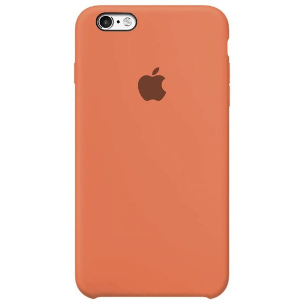 Case Capinha Tangerina para iPhone 6 Plus e 6s Plus de Silicone - WQTO2FBCG