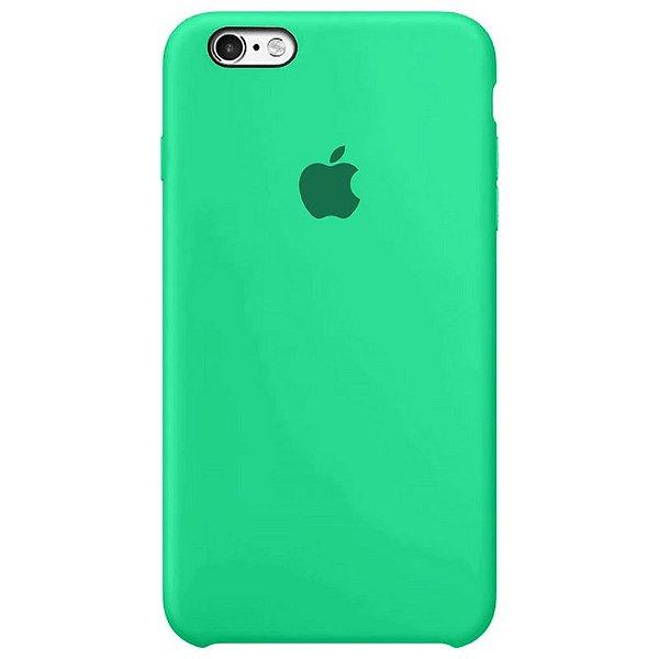 Case Capinha Verde Água para iPhone 6 Plus e 6s Plus de Silicone - EY3QUX98J