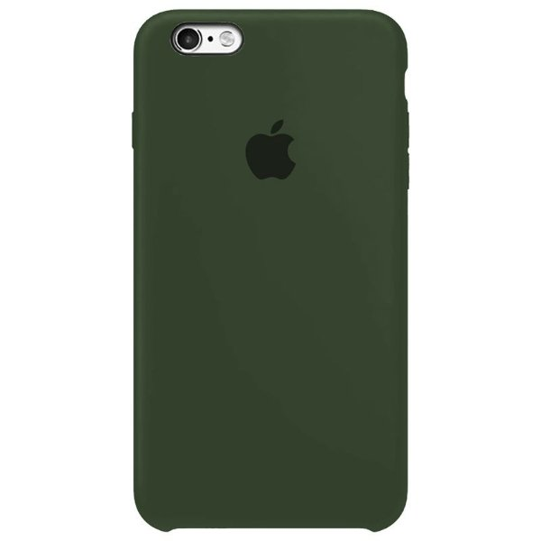 Case Capinha Verde Escuro para iPhone 6 Plus e 6s Plus de Silicone - A4ADW1BGR