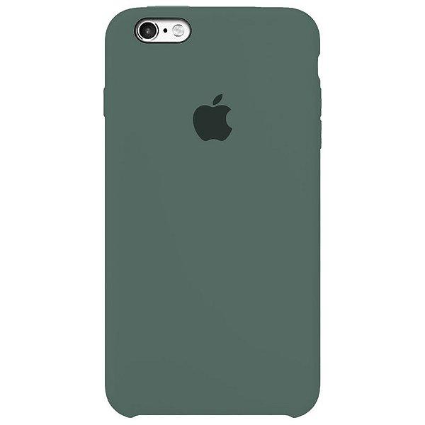 Case Capinha Verde Pacífico para iPhone 6 Plus e 6s Plus de Silicone - Y1Y0PRMPQ