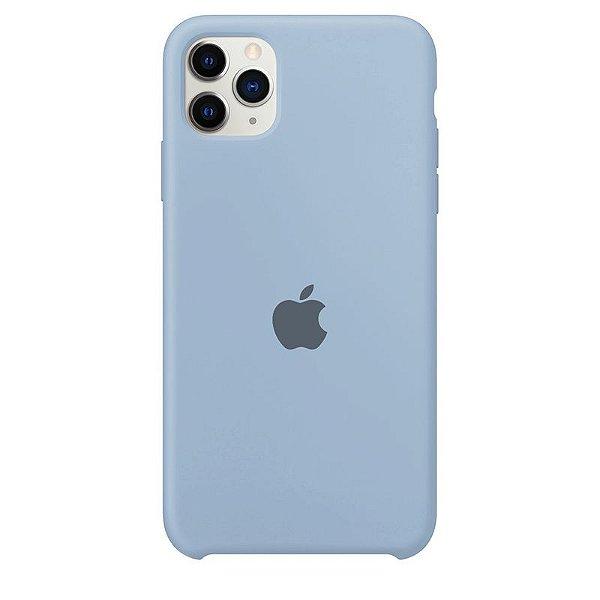 Case Capinha Azul Bebê para iPhone 11 Pro de Silicone - RIHGFBWYM